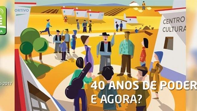 Revista RVP Ovibeja 2017 sobre 40 anos de Poder Local Democrático: E agora?