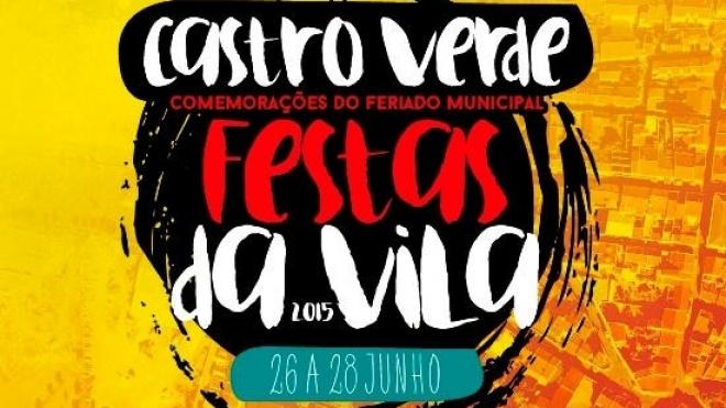 Festas da Vila 2015 em Castro Verde