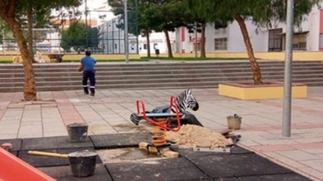 Parque das Grevílias com obras concluídas