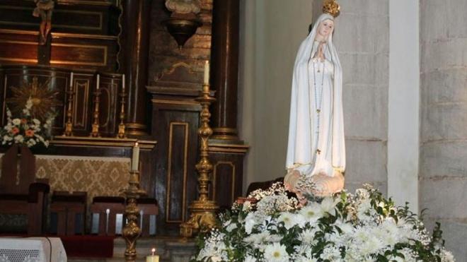 """Imagem Peregrina de Nossa Senhora de Fátima """"despede-se"""" de Beja"""