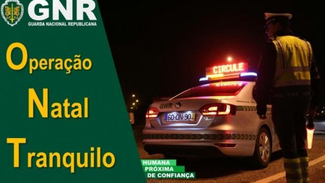 """Operação """"Natal Tranquilo"""" da GNR"""