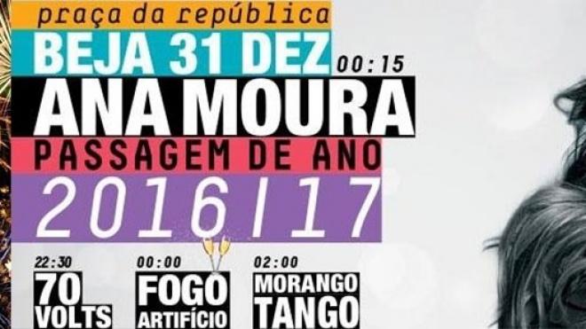 Beja entra em 2017 ao som de Ana Moura