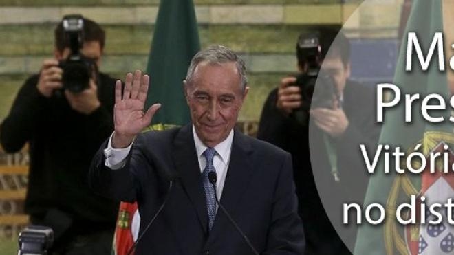 Marcelo Rebelo de Sousa eleito presidente da República na primeira volta