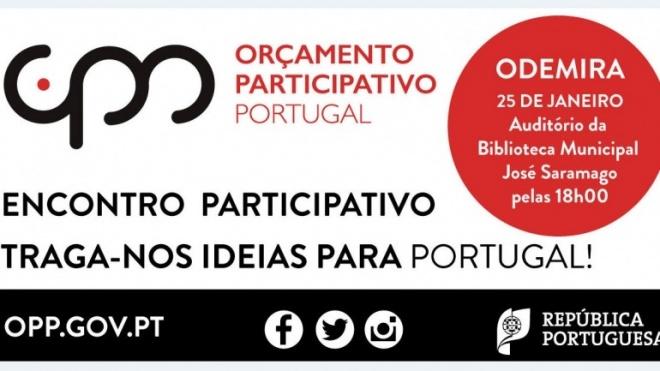 Odemira recebe encontro do Orçamento Participativo Portugal