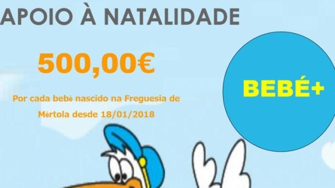 Junta de Mértola oferece 500 euros por cada nascimento
