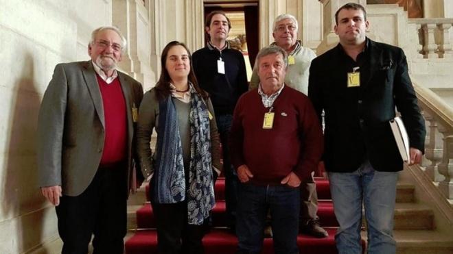 Comissão de Acompanhamento das Obras de Requalificação do IP2 recebida por deputados