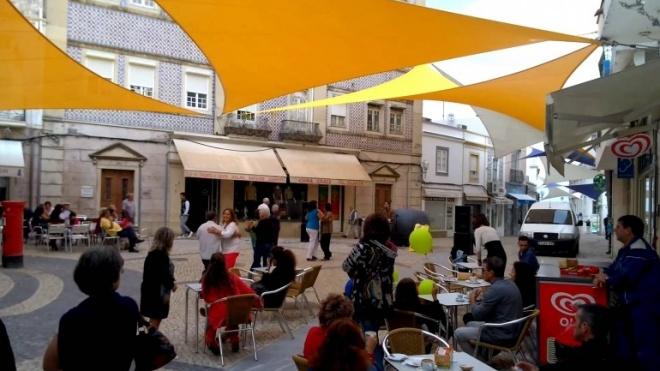 Esplanadas do centro histórico de Beja isentas de taxas