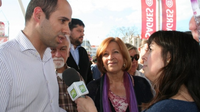 Pedro Filipe Soares visita Ovibeja