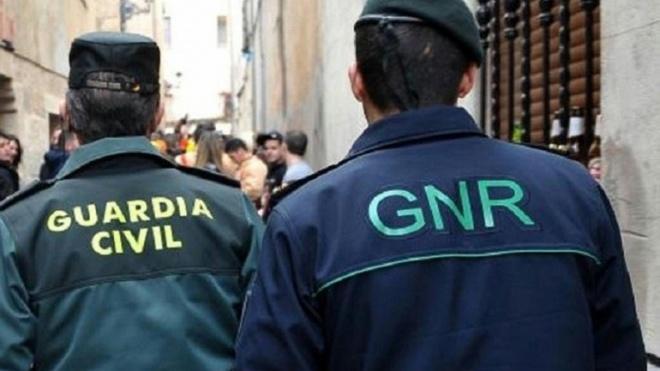 GNR e Guardia Civil em acção conjunta