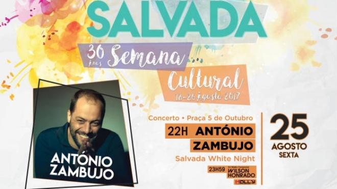 Concerto de António Zambujo em Salvada