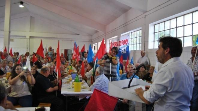 CDU com ações de campanha no distrito