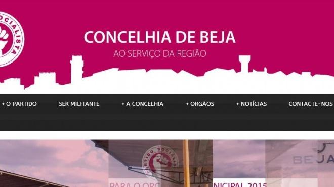 PS de Beja com site renovado