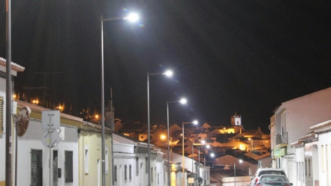 Aljustrel substitui iluminação convencional por tecnologia LED