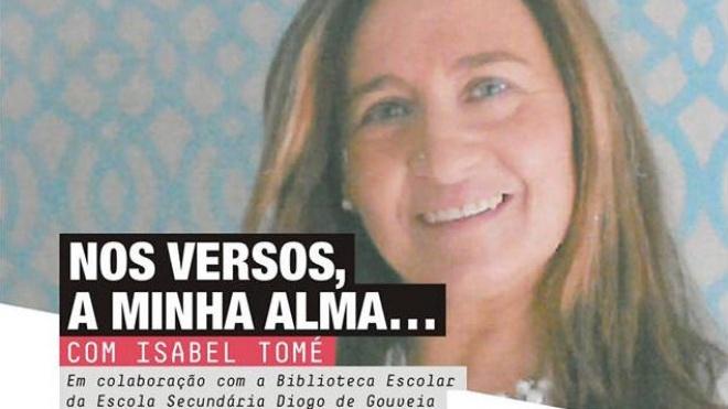 """Isabel Tomé nas """"Conversas com B de Beja"""""""