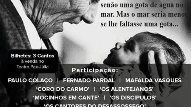 "Espectáculo solidário ""Canto de Amor"""