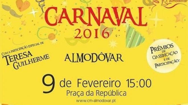 Corso carnavalesco em Almodôvar com inscrições abertas