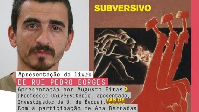 Rui Pedro Borges apresenta livro em Beja