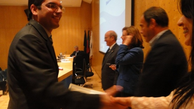 Ex-aluna do IPBeja recebe prémio APRH