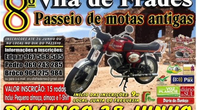 Vila de Frades recebe 8º Passeio de Motos