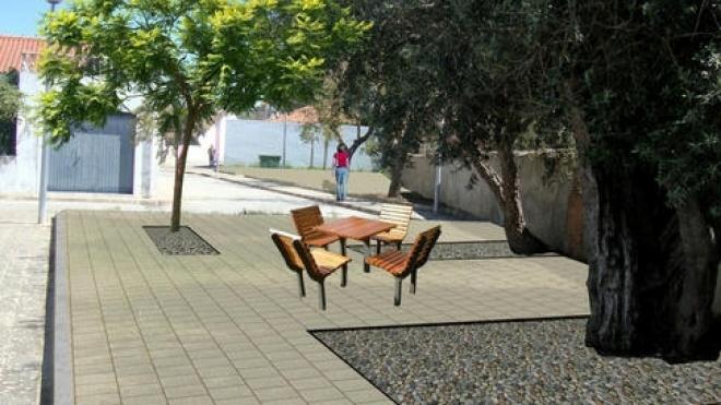 Requalificação do espaço público da Rua do Emigrante em Alvito