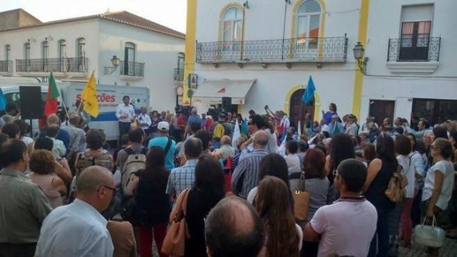 CDU com acções de campanha em Cuba
