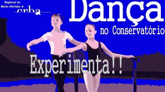 Curso de dança do CRBA com aula experimental