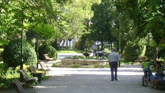 Jardim Municipal de Serpa com obras de beneficiação