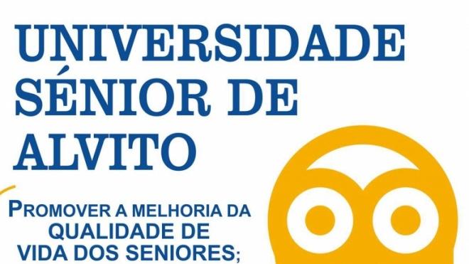 Universidade Sénior de Alvito com inscrições abertas