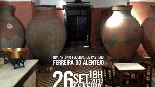 Inauguração da Casa do Vinho e do Cante em Ferreira do Alentejo