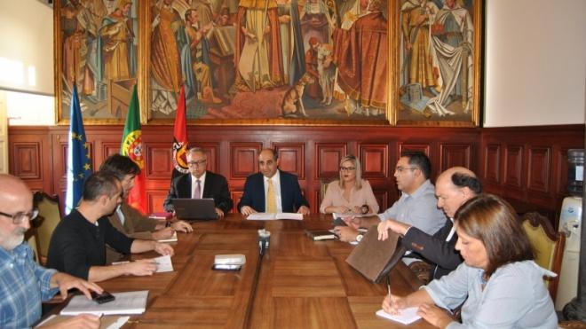 Distribuição de pelouros e designação do vice-presidente