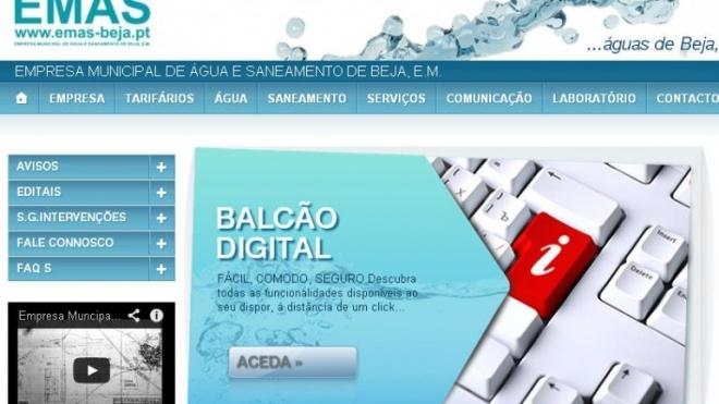 EMAS lançou novo site