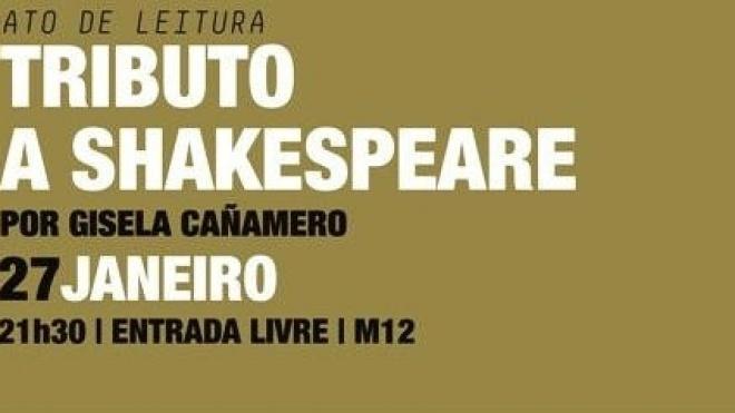 Tributo a Shakespeare para ver em Beja