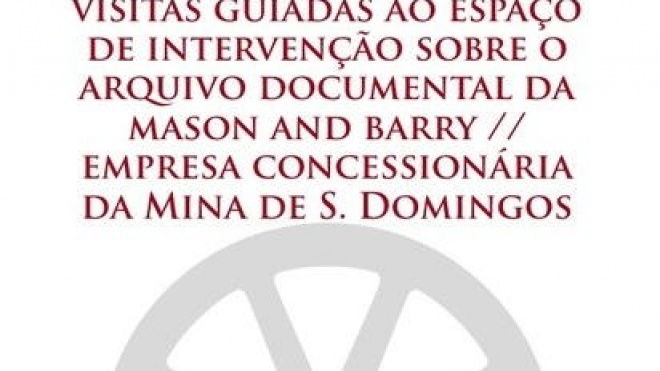 Visita guiada ao arquivo documental da Mina de São Domingos