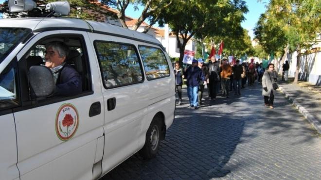 """Manifestação em defesa de """"reformas dignas"""""""