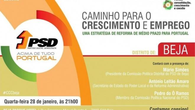 PSD promove conferência sobre crescimento e emprego