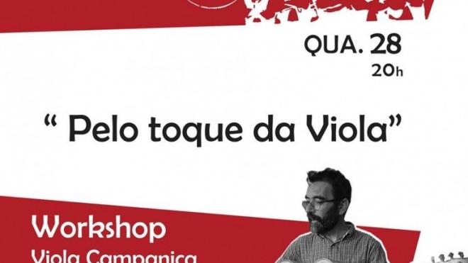 Workshop de viola campaniça e teatro em Beja