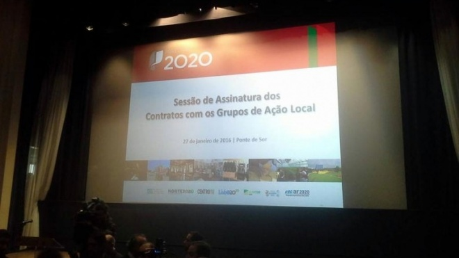 Portugal 2020 assina contratos de financiamento com Grupos de Acção Local
