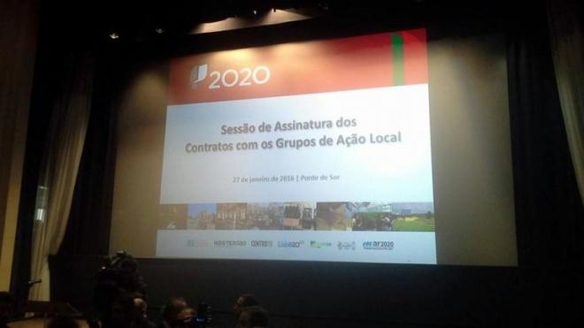 Portugal 2020 assina contratos de financiamento com Grupos de Acção Local
