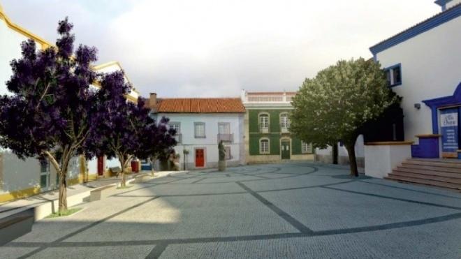 Obras de requalificação no centro histórico de Ourique