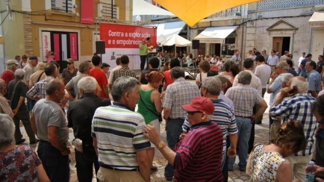 Elevada adesão à greve no distrito de Beja