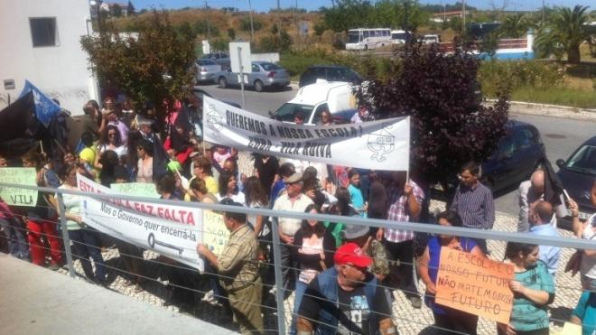 Municípios de Beja protestaram em Évora