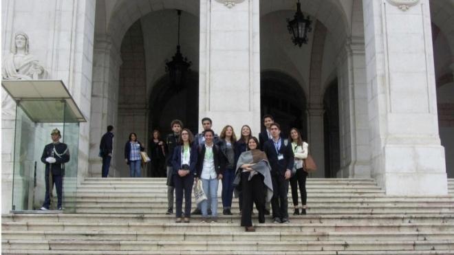Estudantes de Castro Verde em Estrasburgo