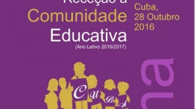 Cuba realiza receção à comunidade educativa