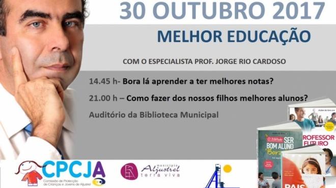 Jorge Rio Cardoso encontra-se com a comunidade aljustrelense