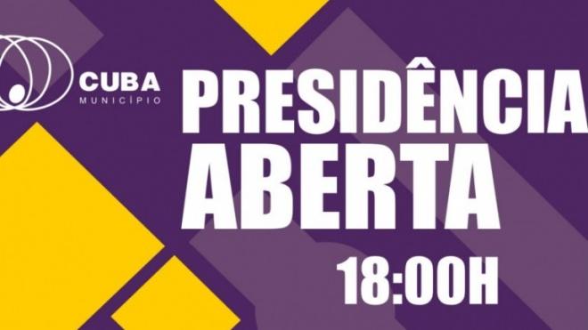 Presidência Aberta no concelho de Cuba