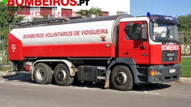 Bombeiros de Vidigueira pagam 600 euros de salário mínimo