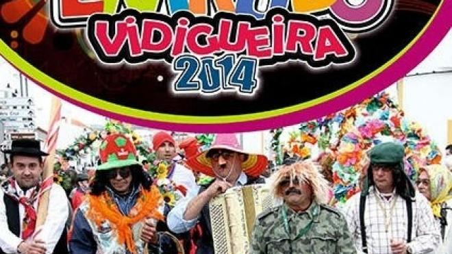Domingo Gordo com desfile de Carnaval em Vidigueira