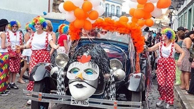 Hoje é Dia de Carnaval