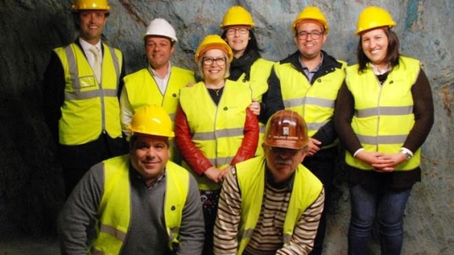 Ana Paula Amendoeira visitou património mineiro