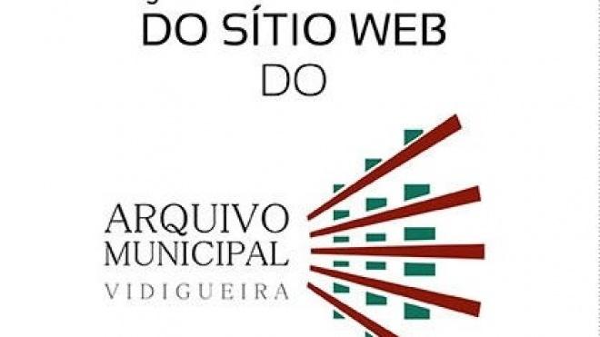 Apresentação Sítio Web do Arquivo Municipal de Vidigueira